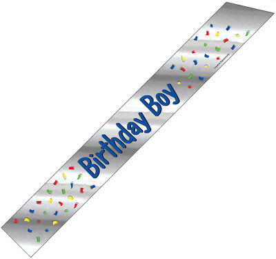 "Sash ""Birthday Boy"" Party Wearable"