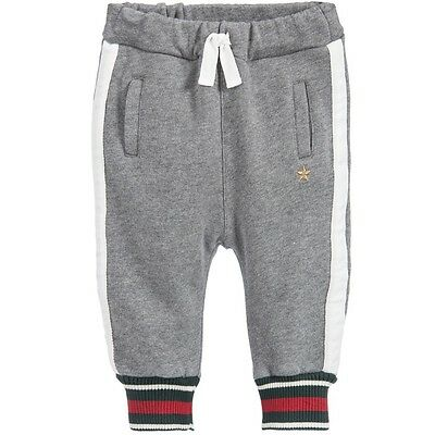 Gucci Baby Grey Gold Star Tracksuit Bottoms 12-18 Months