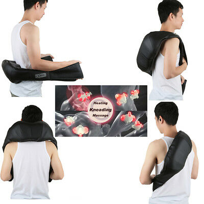 Neck & Shoulder Deep-Kneading Shiatsu Massager with Heat and Vibration Therapy
