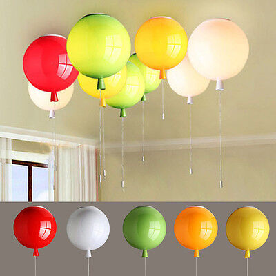 Colourful Balloon Room Ceiling Chandeliers Light Shade Lighting for Kids Gift UK