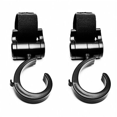 PILAAIDOU Stroller Hook Mommy Hook Stroller Hanger 2 Pack, Heavy Duty Strolle...
