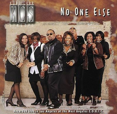 Kurt Carr - No One Else -  New Factory Sealed CD