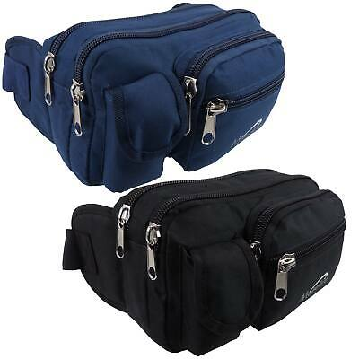 NEW Canvas XL LARGE Practical BUMBAG by MetroLite Travel Utility FannyPack Waist
