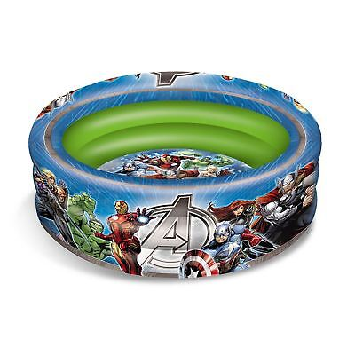 Marvel Avengers Inflatable Three Ring Paddling And Ball Pool Official Kids New