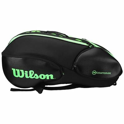 Wilson Blade black/green X9 + Free 3pack overgrip