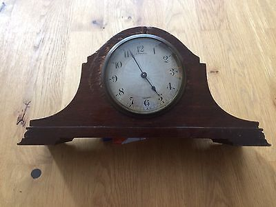 Antique JW Benson London Napoleon Mantle Clock Swiss  Buren Movement