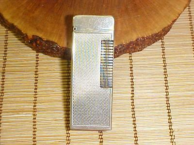 """Dunhill """"rollagas"""" Lighter ~ Patented W/ Usa #'s ~ Swiss Made ~ Filler Leak"""