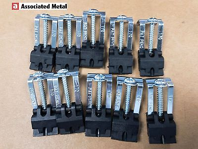 ASTRACAST Stainless Kitchen Sink Fixing down Clips Clamps x 10