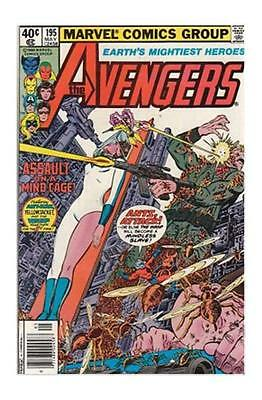 The Avengers #195 (May 1980, Marvel) Warehouse Find!  12 copies.