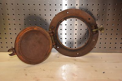 "Industrial VINTAGE PORTHOLE 6"" window, ship, nautical, boat, Antique, Steampunk"