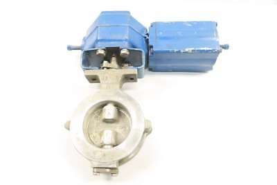 Neles Jamesbury L1Cma 04 Aajb Stainless Butterfly Valve 4 In 150 Wafer D569317