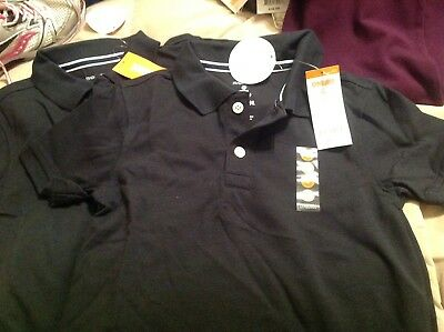 NWT Gymboree Boys Lot Of 2 Navy Polo Tops Shirt Size 6 Short Sleeve