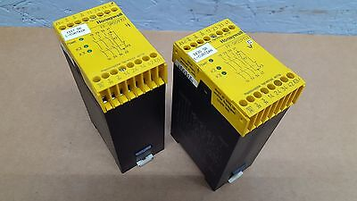 Lot of 2 - Honeywell FF-SRS59352 Two Channel Emergency Stop Module