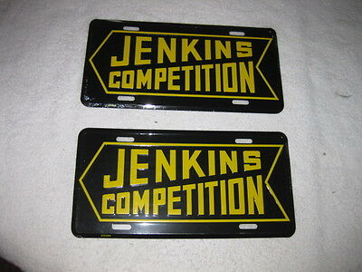 "Two (2) Bill""grumpy""jenkins Competition License Plates"
