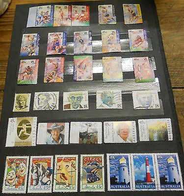 A Page Of Nice Australian Decimal Stamps (Lot 2)