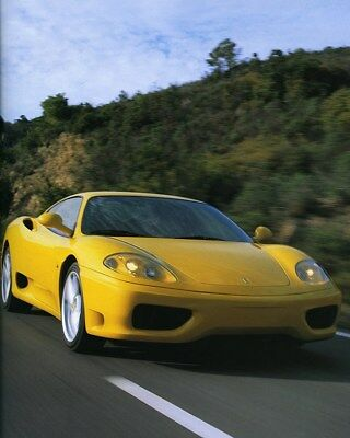 1999 Ferrari 360 Modena Factory Photo ca8076