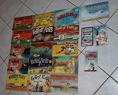 Footrot Flats collection of cartoon books
