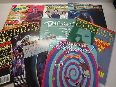 Nice lot of magazine back issues Collecting Hollywood, Wrapped in Plastic Wonder