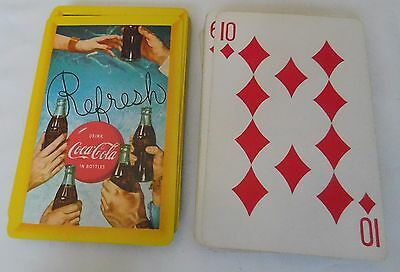 Vintage Coca-Cola Playing Cards  - Refresh  Play Refreshed