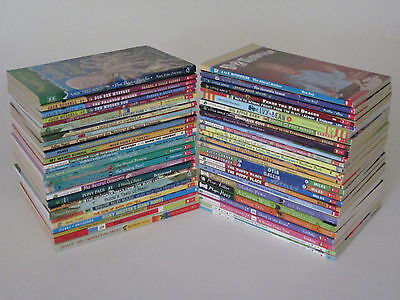 Huge Lot of 54 Children's Chapter Books, Homeschool, Library, Teacher PB