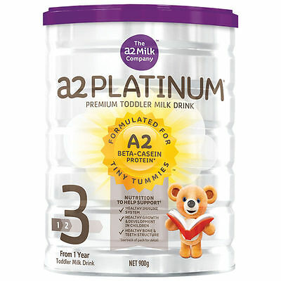 Brand New A2 Platinum Premium Stage 3 Toddler Formula Milk 900g