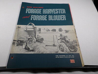 New Holland Forage Harvester and Forage Blower Brochure