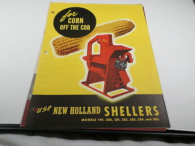 New Holland Shellers for Corn Off the Cob Brochure
