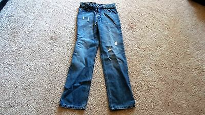 NWT Youth Size 12 Dickies 5 Pocket Blue Jeans