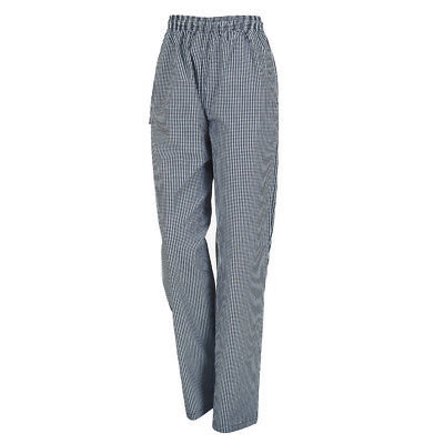 Chef Pants Traditional Chequered with Drawstring Aussie Chef Brand     AC150