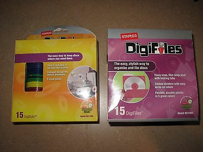 Staples DigiDots & DigiFiles - Easy Way To Keep & Organize Discs