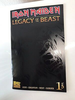 Iron Maiden #1 SDCC 2017 Legacy of the Beast Variant Comic Heavy Metal