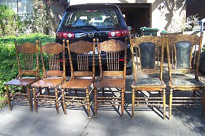 antique colonial dining chairs