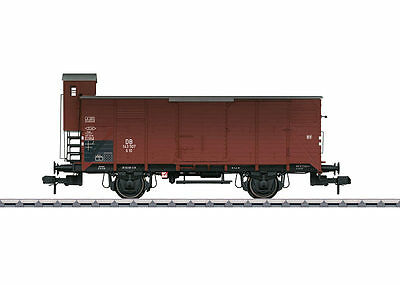 Märklin 58944 1 Gauge COVERED GOODS WAGON G 10 dB with brakeman's cab #