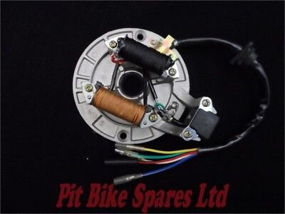 Quality Stator Plate Magneto For Pit Bike. Will Fit Most Makes. 50cc to 125cc