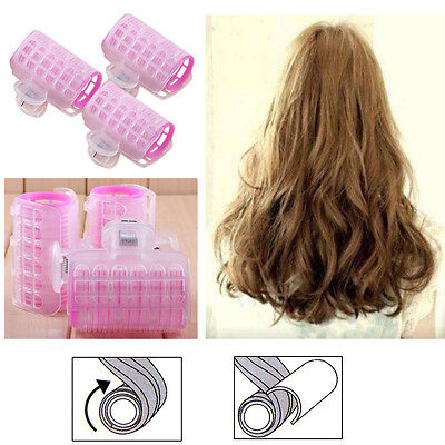 3 Pcs Hairdress Magic Bendy Hair Styling Roller Curler Spiral Curls DIY Tools