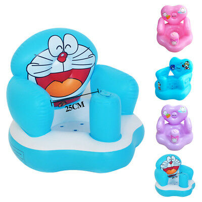 Inflatable Sofa Portable Baby Learn to Seat Chair Training Bath Dining Chair