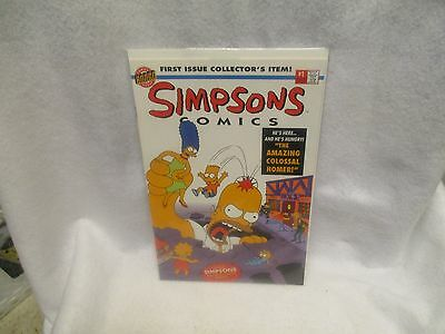 The Simpsons Bongo Comics issue #1  MINT COND. WITH POSTER
