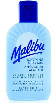 Malibu Aftersun Soothing Lotion With Aloe Vera 200ml Free And Fast Delivery PP