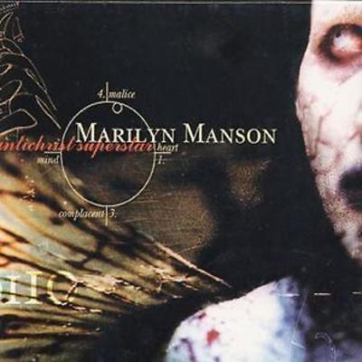 Antichrist Superstar [PA] by Marilyn Manson (CD, Oct-1996, Interscope (USA))