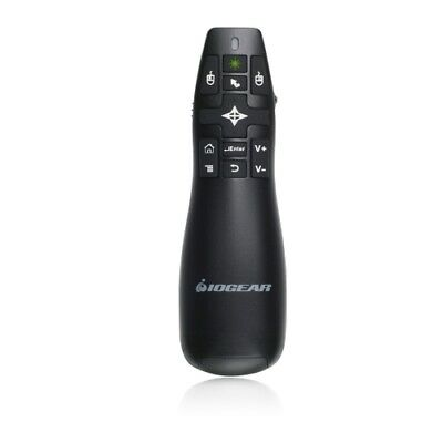 IOGEAR GME435G GreenPoint Pro 2.4GHz Gyroscopic Presentation Mouse Laser Pointer
