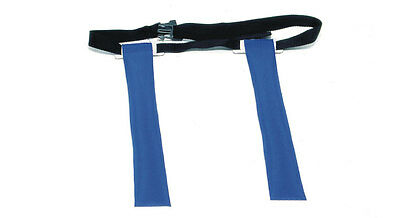 Rugby Tag Belt -Red, Blue or Yellow Tags Junior & Adult Sizes Play Training Aid