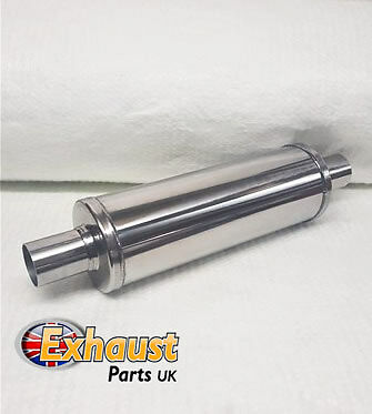 "14"" x 6"" x 2""  50.8 mm Exhaust Silencer Resonator Muffler Universal Middle Box"