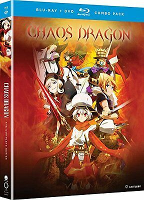Chaos Dragon: The Complete Series (Blu-ray/DVD) BRAND NEW SEALED