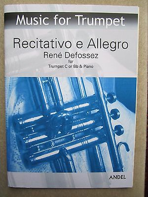 Recitativo e Allegro by Defossez*NEW* for Trumpet C or Bb and Piano