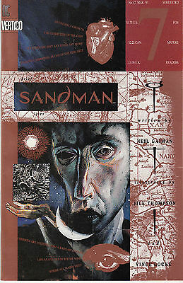 SANDMAN 47...VF/NM...1993...Brief Lives Pt.7!...Jill Thompson...Bargain!