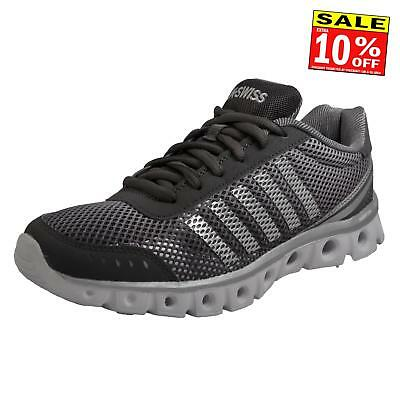 K Swiss X Lite Athletic Cmf Men's Memory Foam Running Shoes Fitness Trainers Gre