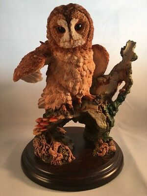 """Royal Doulton 01052 Tawny Owl - Wings Open Large Ltd Edition 8"""" Figurine"""