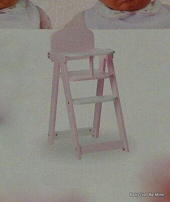 New ~ Never Removed from box ~  My Twinn  High Chair ~ Assembly Required
