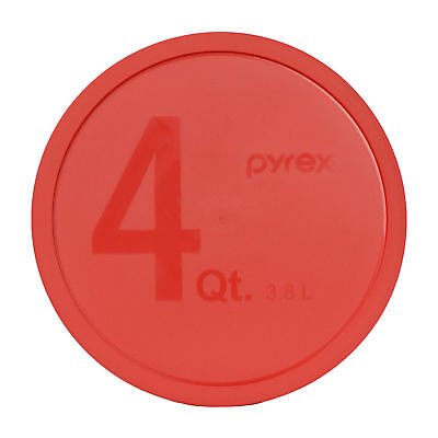 Pyrex 326-PC Red Round Plastic Storage Lid Cover for 4Qt Glass Mixing Bowl