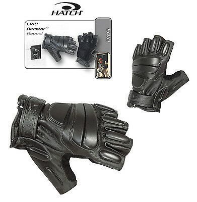 Hatch Lr10 Reactor 3/4 Finger Swat Tactical / Rappelling / Shooting Gloves Sm